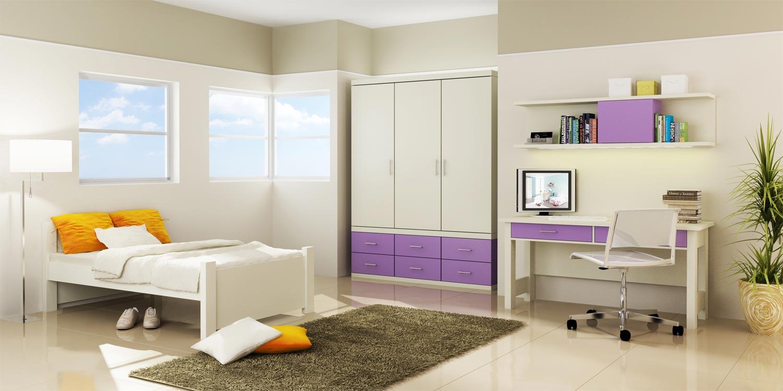 מתקדם חדרי נוער מעוצבים | עיצוב חדרי נוער | רהיטי דורון נוער DT-66